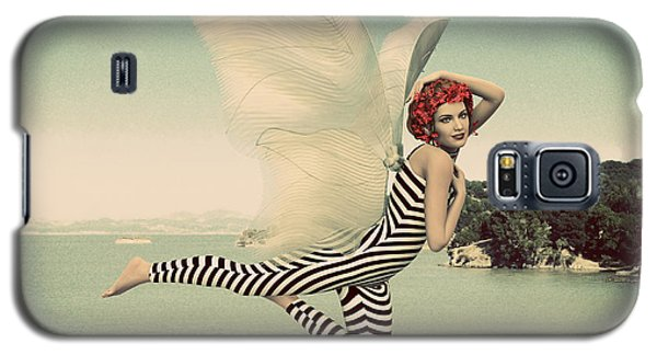 Vintage Ocean Fairy Galaxy S5 Case by Methune Hively
