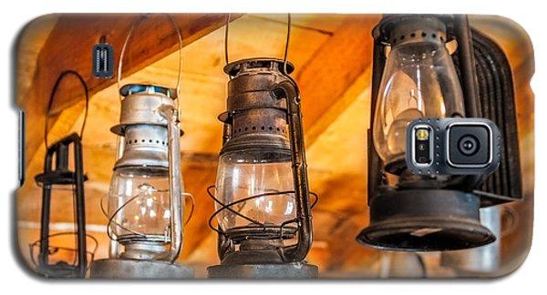 Vintage Oil Lanterns Galaxy S5 Case by Paul Freidlund