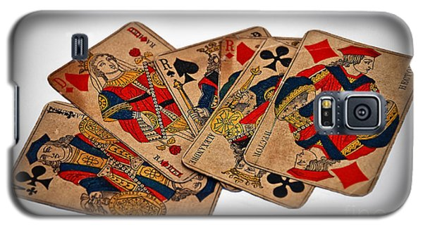 Vintage Playing Cards Art Prints Galaxy S5 Case