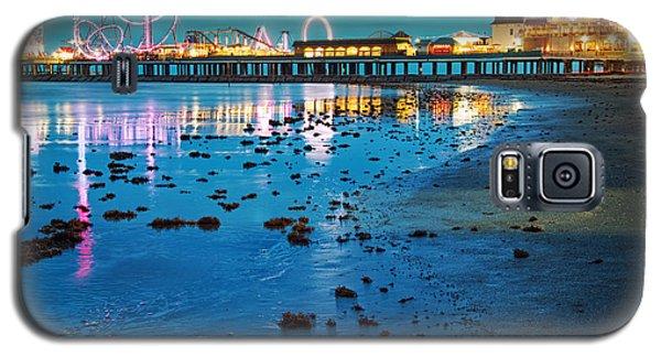 Vintage Pleasure Pier - Gulf Coast Galveston Texas Galaxy S5 Case