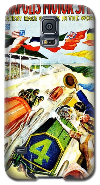 Vintage Poster - Sports - Indy 500 Galaxy S5 Case