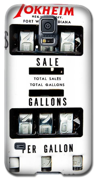 Vintage Pump Panel Galaxy S5 Case