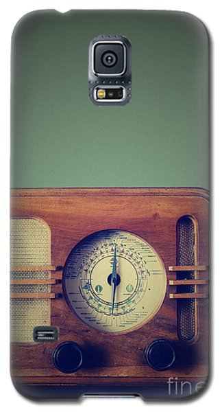 Vintage Radio Galaxy S5 Case