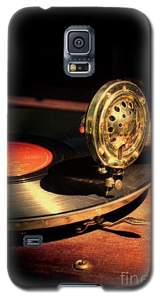 Vintage Record Player Galaxy S5 Case