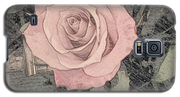 Vintage Romance Rose Galaxy S5 Case