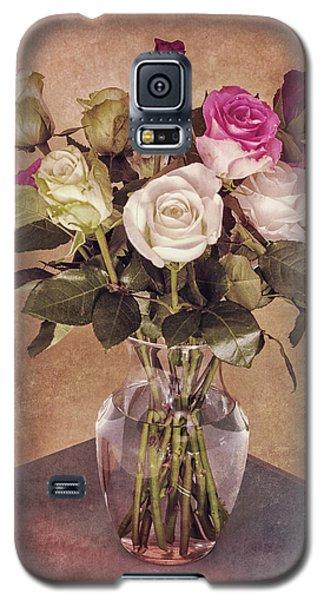 Vintage Roses Galaxy S5 Case