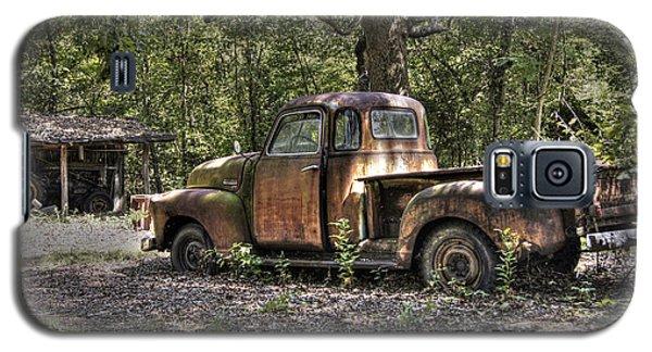 Vintage Rust Galaxy S5 Case by Benanne Stiens