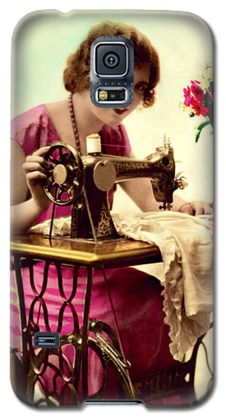 Vintage Seamstress Galaxy S5 Case
