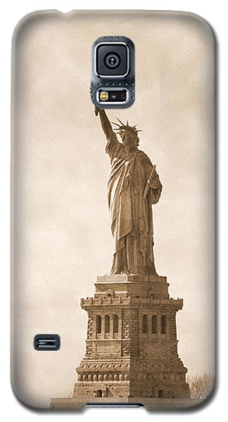 Vintage Statue Of Liberty Galaxy S5 Case