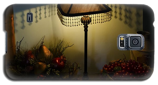Vintage Still Life And Lamp Galaxy S5 Case by Greg Reed