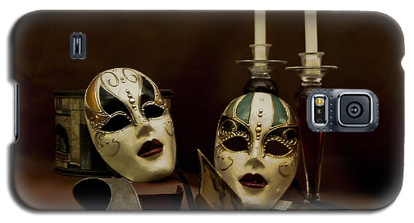 Vintage Still Life Of Venitian Mask Galaxy S5 Case