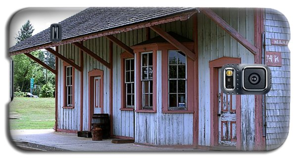 Vintage Train Station Galaxy S5 Case by Nance Larson