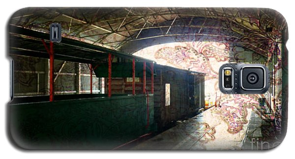Galaxy S5 Case featuring the photograph Vintage Train Station by Therese Alcorn