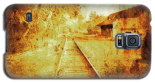 Vintage  Railway Portland Pa Usa Galaxy S5 Case