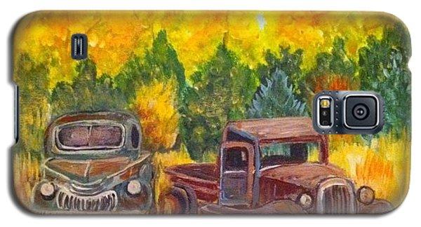 Vintage Trucks Galaxy S5 Case