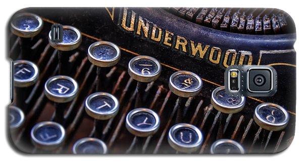 Vintage Typewriter 2 Galaxy S5 Case
