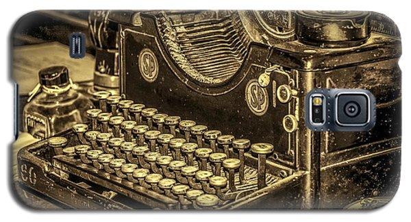 Vintage Typewriter Galaxy S5 Case