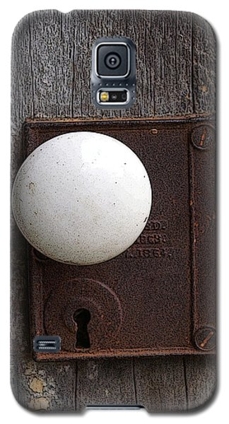 Vintage White Doorknob Galaxy S5 Case