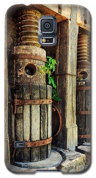 Vintage Wine Press Galaxy S5 Case