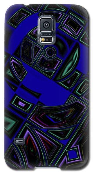 Vinyl Blues Galaxy S5 Case by Judi Suni Hall