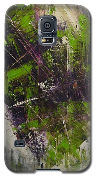Galaxy S5 Case featuring the painting Violation by Lucy Matta