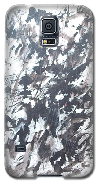 Galaxy S5 Case featuring the painting Violence by Esther Newman-Cohen