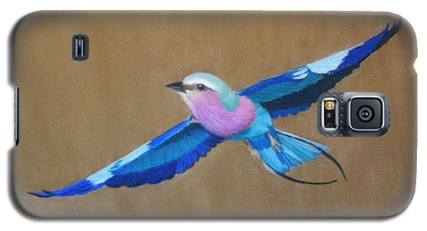Violet-breasted Roller Bird II Galaxy S5 Case