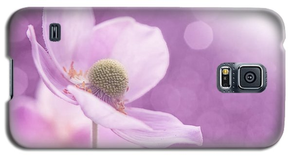 Galaxy S5 Case featuring the photograph Violet Breeze 4x3 by Lisa Knechtel