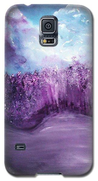 Violet Horizon Galaxy S5 Case