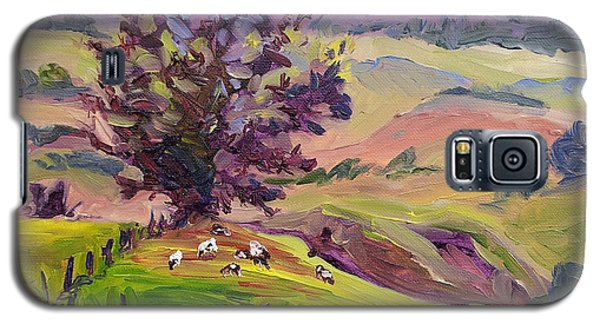 Violet Mountains At Sunrise Galaxy S5 Case