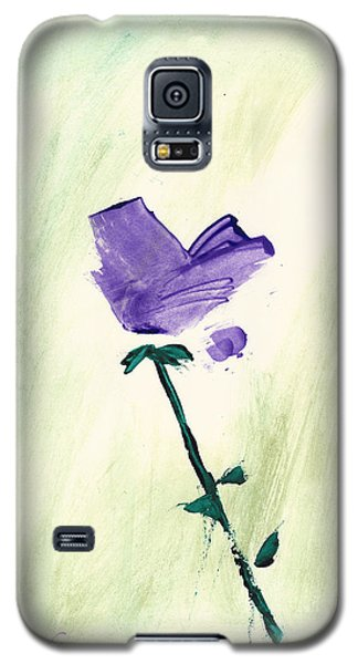Violet Solo Galaxy S5 Case by Frank Bright