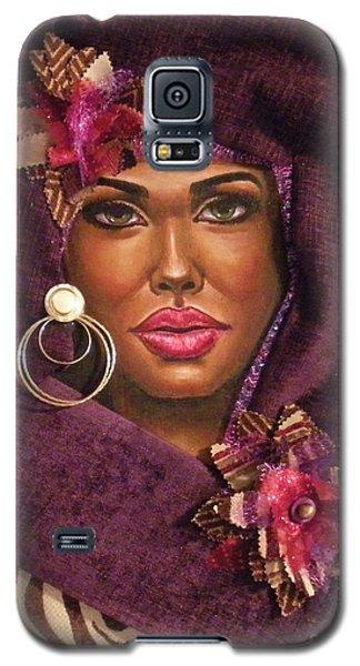 Violets Galaxy S5 Case by Alga Washington