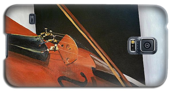 Galaxy S5 Case featuring the painting Violin by Jock McGregor
