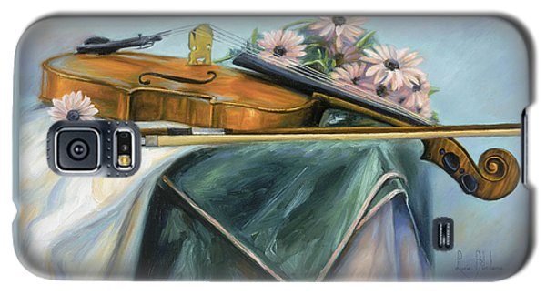Violin Galaxy S5 Case - Violin by Lucie Bilodeau