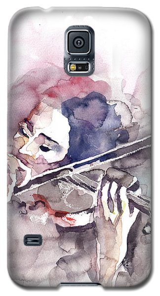 Violin Prelude Galaxy S5 Case by Faruk Koksal