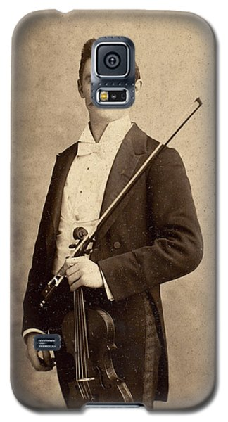 Violin Galaxy S5 Case - Violinist, C1900 by Granger