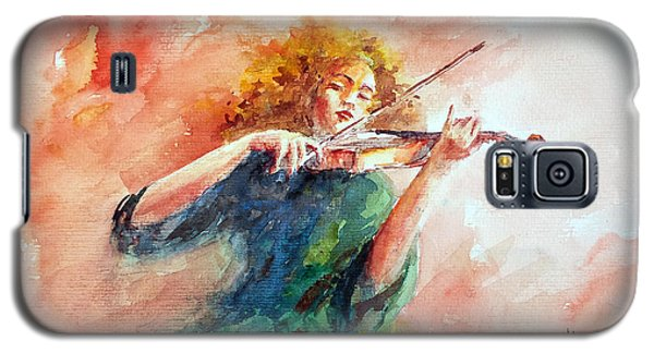 Violinist Galaxy S5 Case by Faruk Koksal