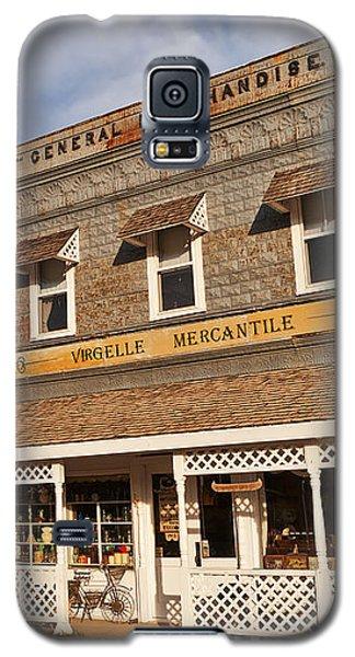 Galaxy S5 Case featuring the photograph Virgelle Mercantile by Sue Smith