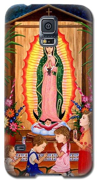 Virgen De Guadalupe #3 Galaxy S5 Case by Evangelina Portillo