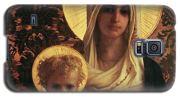 Virgin And Child Galaxy S5 Case by Antoine Auguste Ernest Herbert