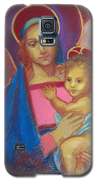 Virgin And Child Galaxy S5 Case