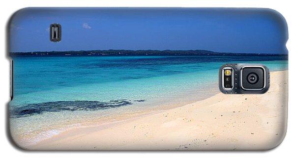 Galaxy S5 Case featuring the photograph Virgin Island Cebu by Joey Agbayani