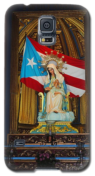 Virgin Mary In Church Galaxy S5 Case