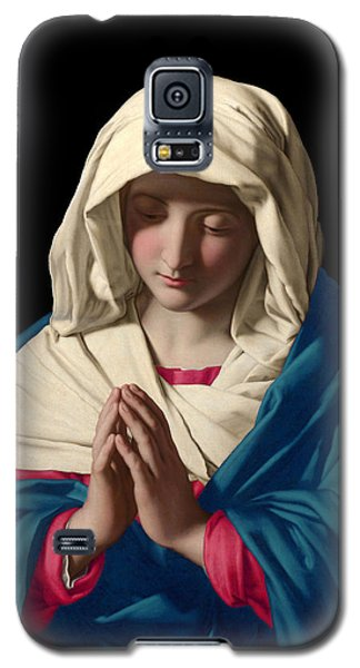 Virgin Mary In Prayer Galaxy S5 Case