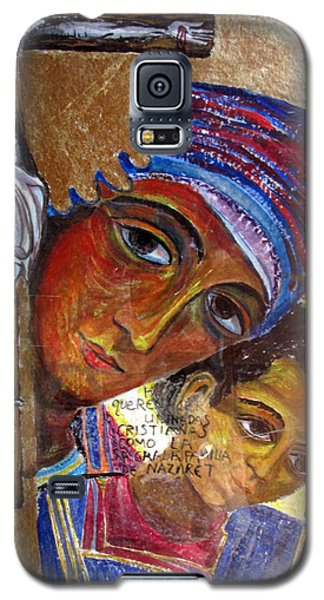 Virgin Of The Way And The Cross Galaxy S5 Case