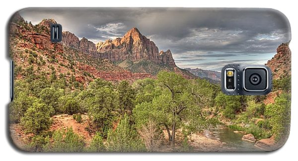 Galaxy S5 Case featuring the photograph Virgin River by Jeff Cook