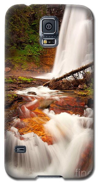Galaxy S5 Case featuring the photograph Virginia Cascades by Aaron Whittemore