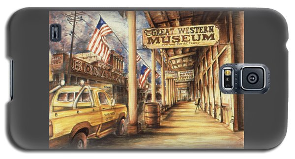 Virginia City Nevada - Western Art Galaxy S5 Case