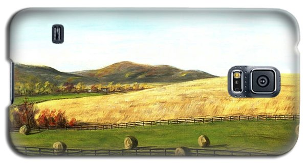 Virginia Countryside Autumn South Of Leesburg Galaxy S5 Case