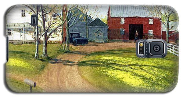 Virginia Farm Countryside Spring Galaxy S5 Case